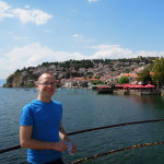 Ohrid from the pier